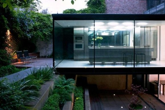 I'm a big fan of this. Great materials; amazing architecture; terrific space.