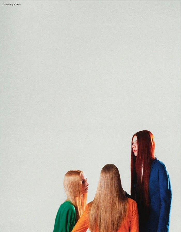 tim gutt (photographer)/ jil sander / for dazed & confused