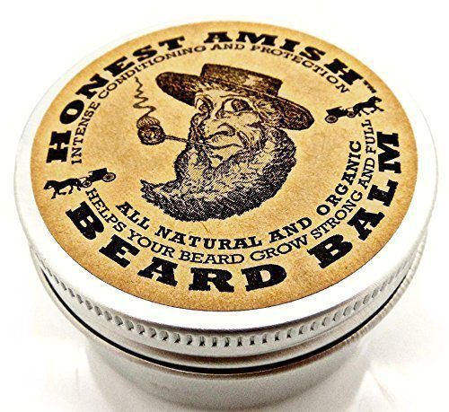 honest amish beard balm leave in conditioner