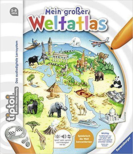 tiptoi® Mein großer Weltatlas: Amazon.de: Inka Friese, Constanze Schargan: Bücher