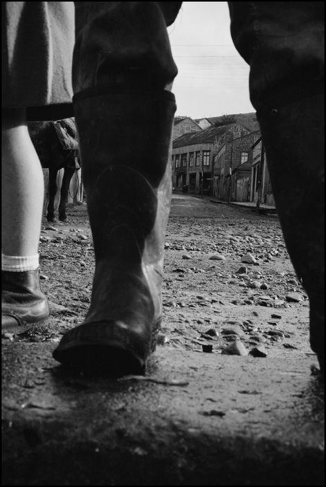 Sergio Larrain - Region of Los Lagos. Island of Chiloe. Village of Chonchi. 1961.