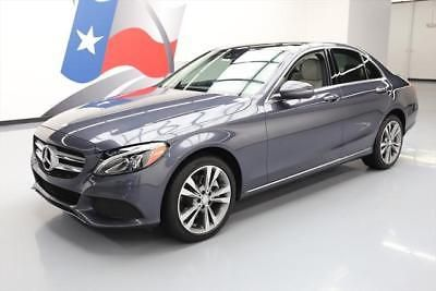 2016 Mercedes-Benz C-Class  2016 MERCEDES-BENZ C300 4MATIC AWD PANO ROOF NAV 11K MI #138061 Texas Direct