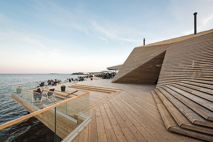 Avanto and the Löyly sauna in Helsinki; http://www.livegreenblog.com/sustainable-architecture/avanto-and-the-loeyly-sauna-in-helsinki-11789/