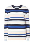 Womens **Tall Ottoman Stripe Jumper- Multi Colour