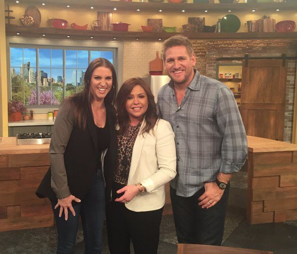 Stephanie McMahon, Rachel Ray, Chef Curtis Stone