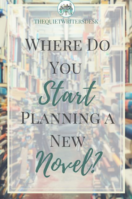 4 Steps to get you started planning your new novel, right from the very bottom when your idea is just a tiny seedling and needs some nourishing. Here's how to make it grow. #writingtips #writerslife