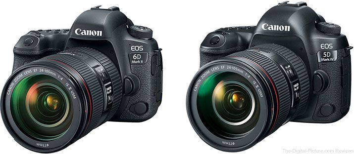 Should I Get The Canon Eos 6d Mark Ii Or The 5d Mark Iv Eos
