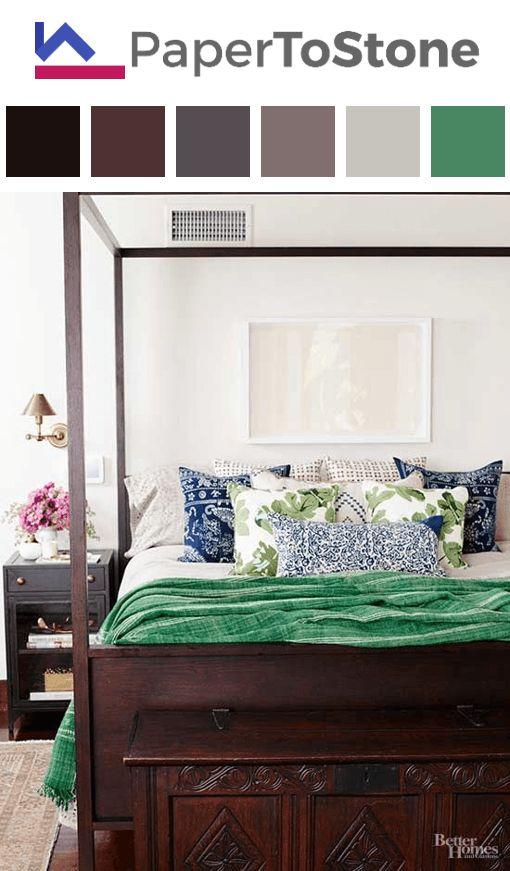 Bedroom Color Palette   Black Dark Tangelo Dark Vermilion