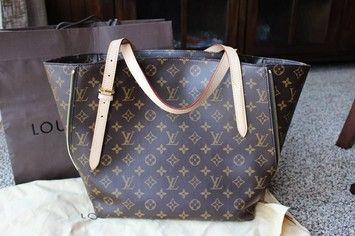 Louis Vuitton Voltaire Brown Monogram Tote Bag. Get one of the hottest styles of the season! The Louis Vuitton Voltaire Brown Monogram Tote Bag is a top 10 member favorite on Tradesy. Save on yours before they're sold out!
