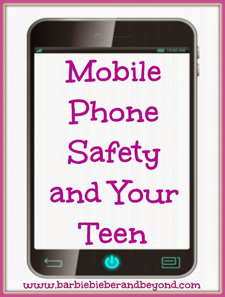 Mobile phone safety for parents