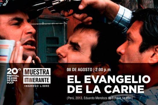 El evangelio de la carne es una película peruana de suspenso-policial y drama de Eduardo Mendoza de Echave. Se estrenó el 17 de octubre de ...
