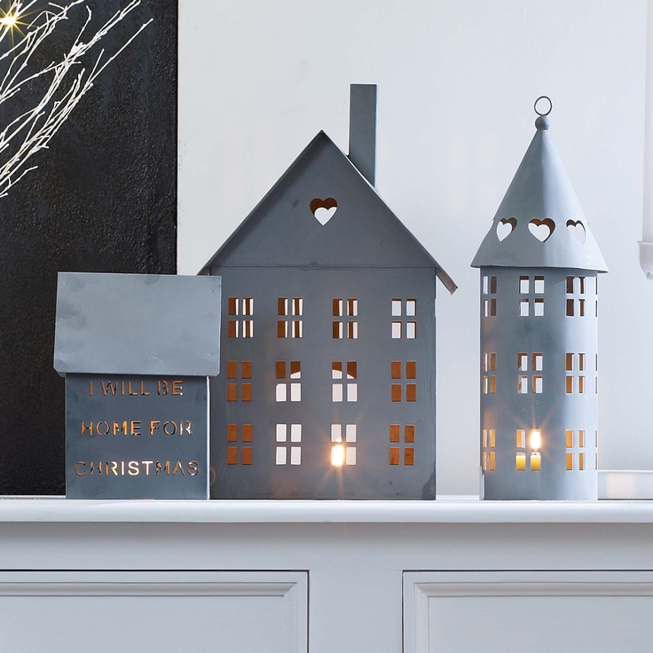 Aw, these paper houses are adorable. Are they strictly reserved for Christmas?