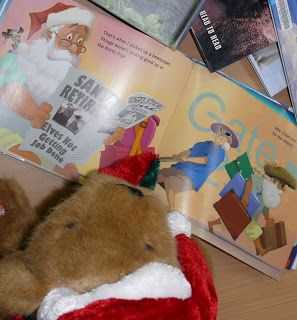 Christmas Adventures of Bing the Library Bear #11. Bing does some reading
