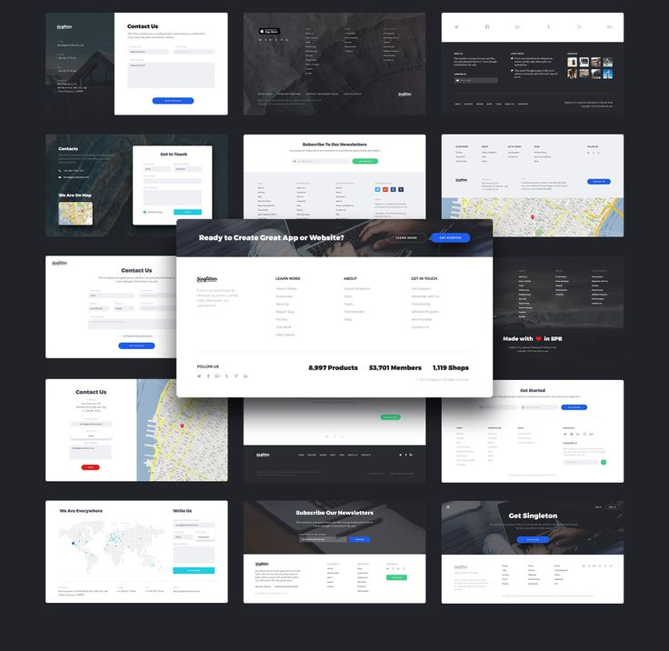 Singleton - perfect, fresh and stylish UI Kit for building beautiful Landing Pages. This clear and practical UI tool consists of 120 elegant cards in 12 categories. All components are vector based, fully compatible, editable and pixel perfect. Also they are well-organized, carefully named and grouped. So it will be very easy for you to use Singleton. Fonts used are Montserrat Free Font and Crimson Free Font.  Singleton is high-quality UI Tool which is worthy to be in your collection!