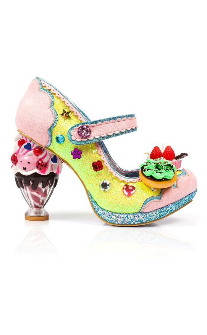 Clothing, Shoes & Accessories Women's Shoes Irregular Choice Rare Vintage Wedge Sandals Shoes Uk 4 Eur 37 New Latest Fashion