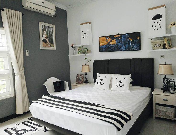 Desain Kamar Tidur Sederhana Ukuran 3x3