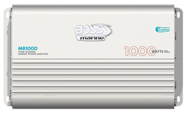 BOSS AUDIO MR1000 Boss Marine 4CH Mosfet Power Amplifier 1000W