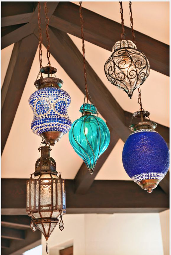 Collection of hand crafted lamps!