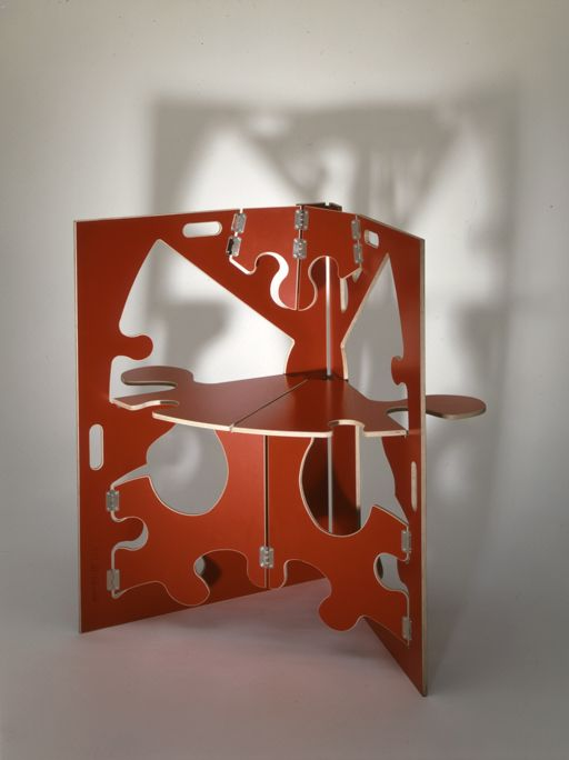 Folding chair - puzzle.