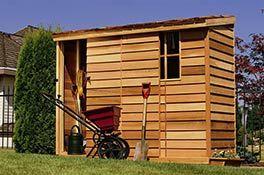 Cedarshed Yardsaver 8x3 Lean To Shed Kit