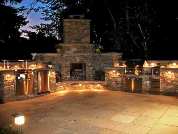 Awesome 2014 Outdoor Kitchen Lighting In The Central Lighting Concept From  Http://homedecorremodeling.