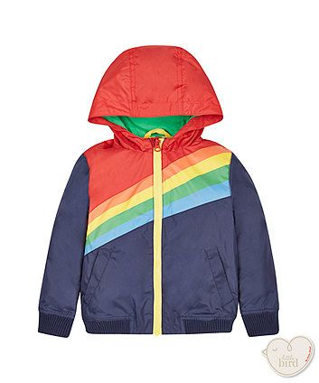 Little Bird by Jools Colour Block Lined Jacket | unisex | Mothercare