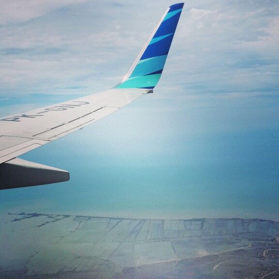 Fly with Garuda Indonesia