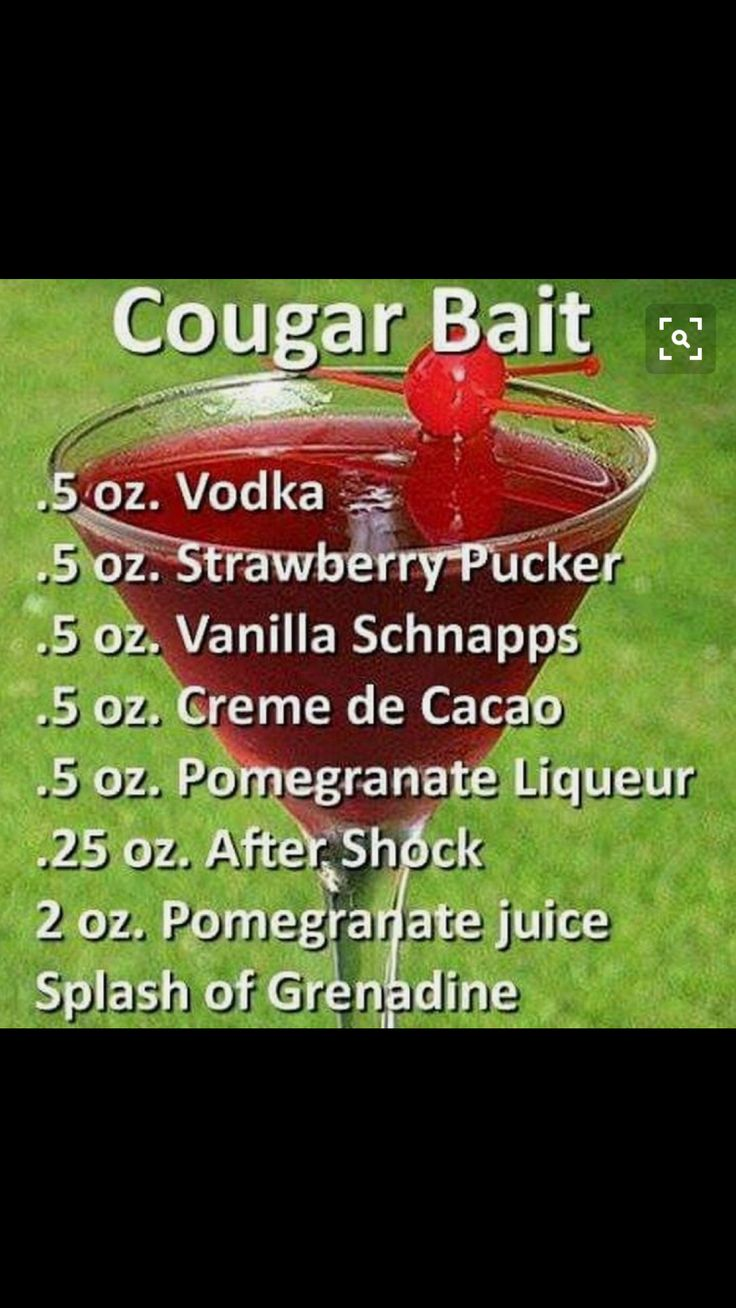 Cougar Bait Cocktail