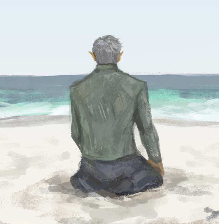 """lizthefangirl: """"Rowan Whitethorn in Empire of Storms.When I read this scene, I knew I had to paint it as a coping mechanism. Here it is! Painted in Photoshop. """""""