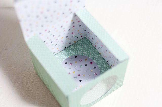 Cupcake-Box Anleitung
