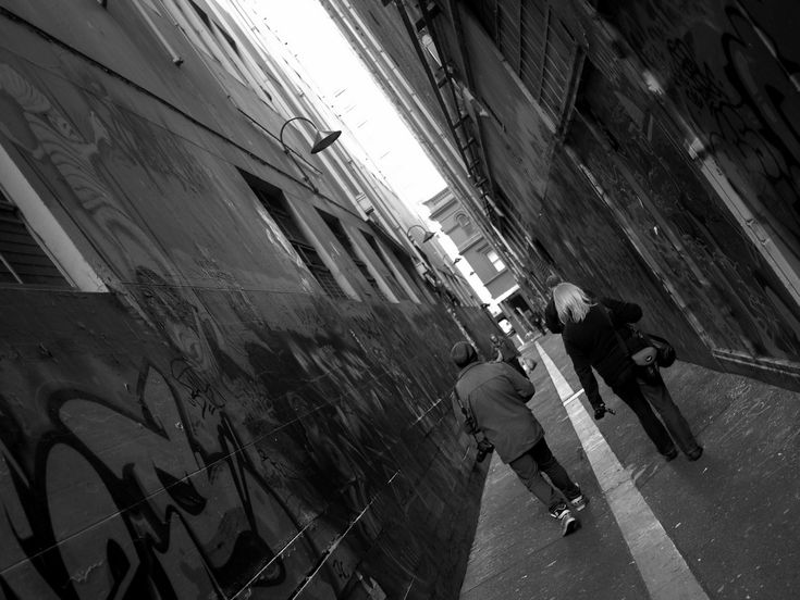 Melbourne Street Photography: The People & The City - The City Lane