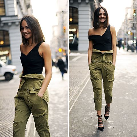 You can say that we're paying major attention to the latest take on the military trend: Perfect olive tones, structured silhouettes and utilitarian hardware are key to ranking high on any best-dressed list. One of [...]
