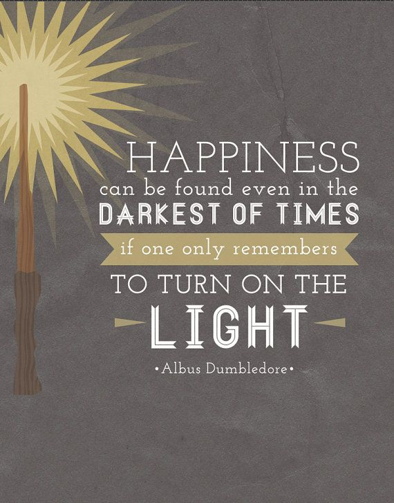 Harry Potter quote. #happiness #inspirational #albusdumbledore: