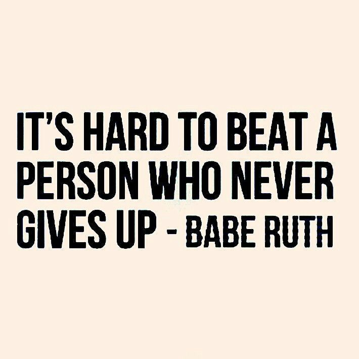 Babe Ruth knows where it's at!