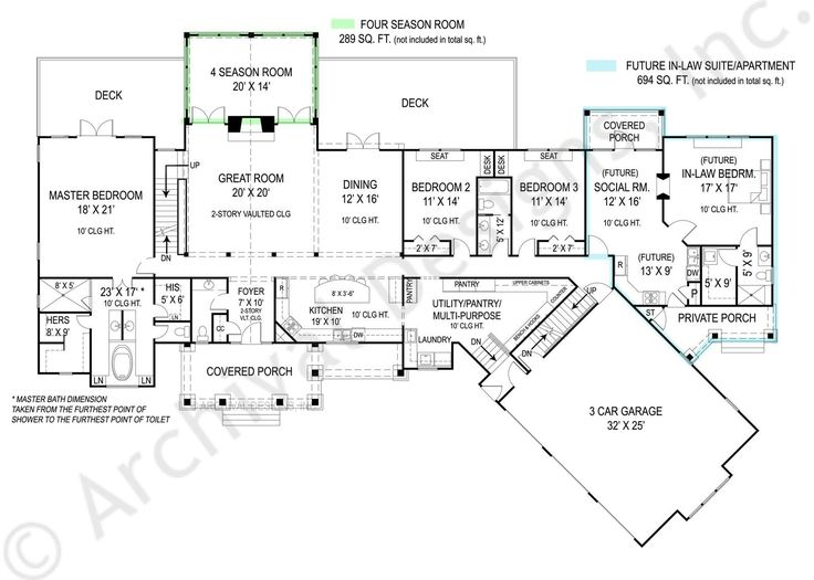 223 best Floor Plans images on Pinterest House blueprints, Home - best of blueprint country house