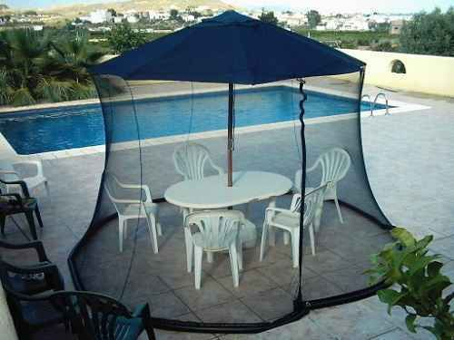 Mosquito Netting For Patio Umbrella To Protect You From Insect Bite