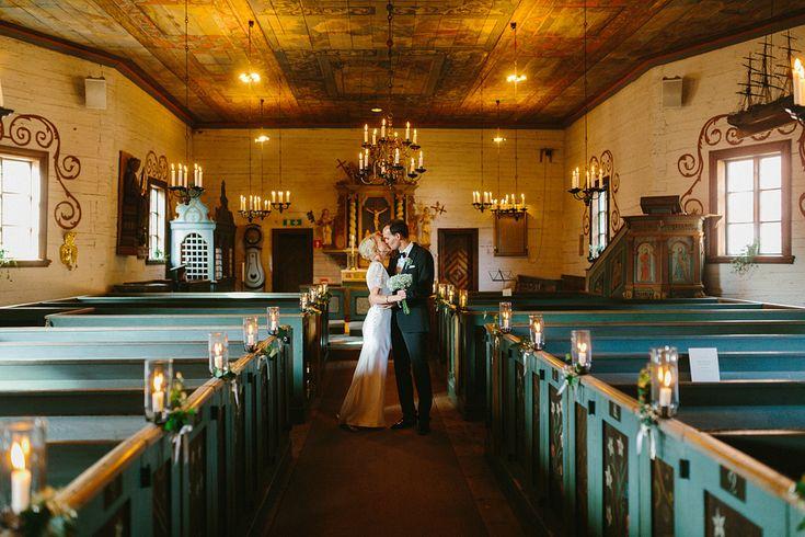 Förtitt på Karin och Davids fantastiska bröllop på Tylösand   brollop