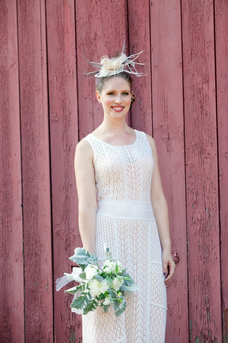 Eclectic, Handmade Wedding With A Bride Who Knitted Her Own Dress: Stephanie & Rob