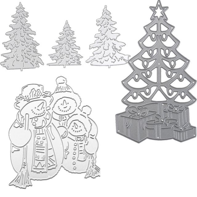 29 Types Christmas Metal Cutting Dies Stencils Paper Cards Photo