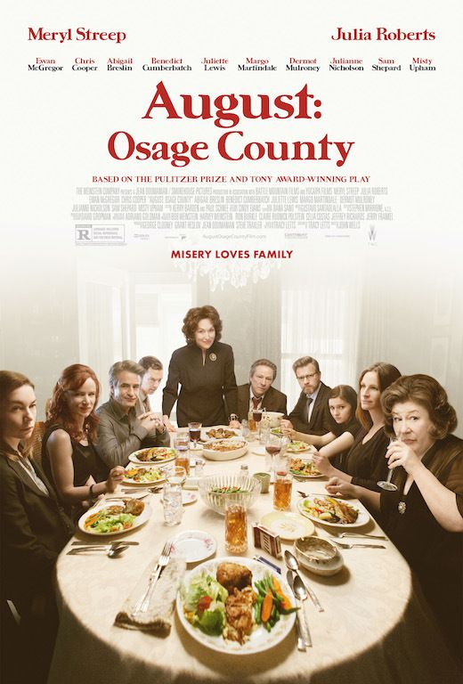 August - Osage County (2013) poster