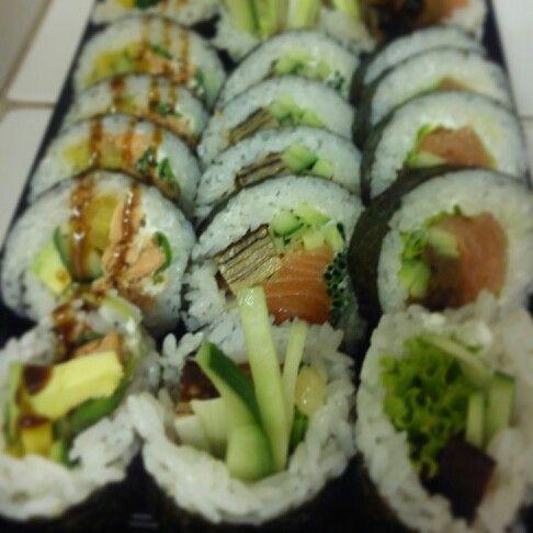 Sake set, czyli łosoś na większy głód