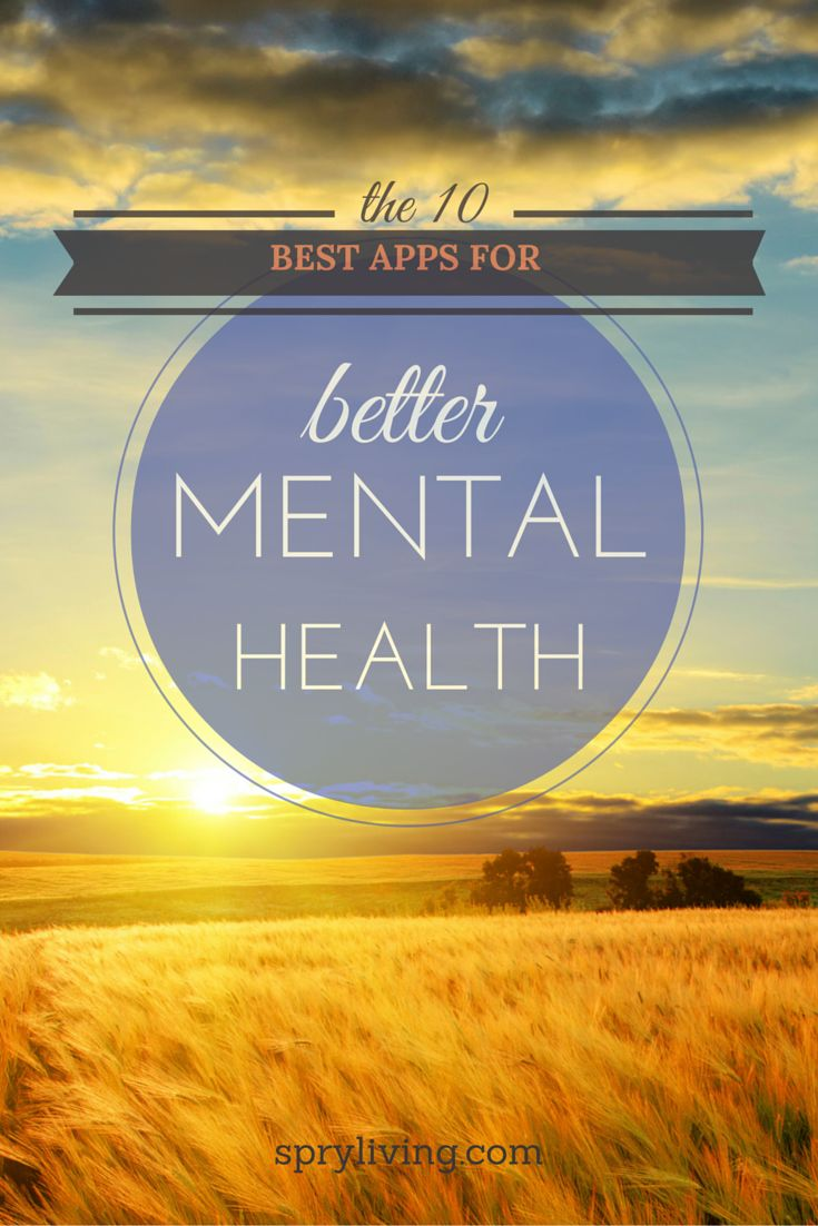 10 best apps for mental health ••