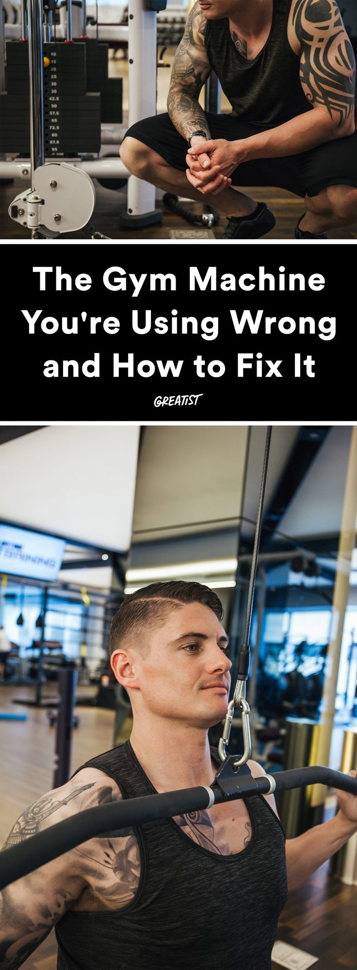 We all make mistakes.  #greatist https://greatist.com/fitness/cable-crossover-how-to-use-it-correctly