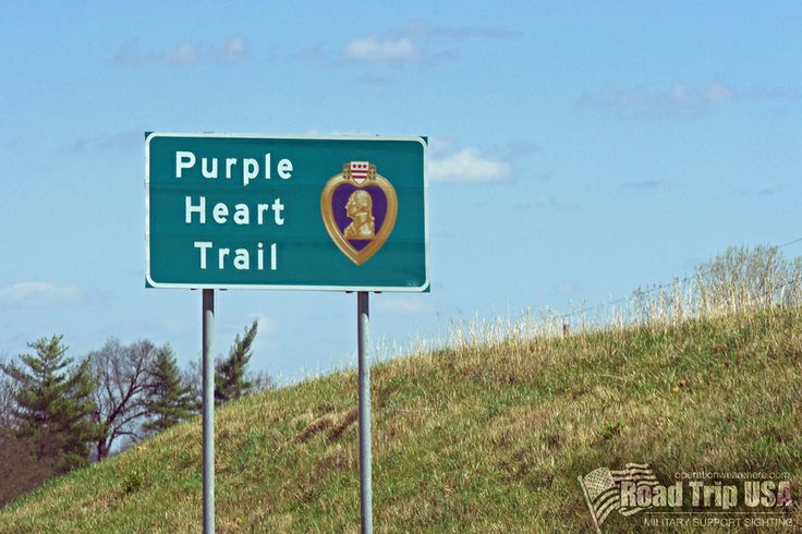 As we drove the I-44 in Missouri, we saw signs indicating that we were on the Purple Heart Trail, a tribute to those who have been awarded the Purple Heart, and a reminder for all who pass by of the great sacrifices of military service members. http://www.purpleheart.org/PHTrail/ #military #support sighting PCS road trip USA operationwearehere.com