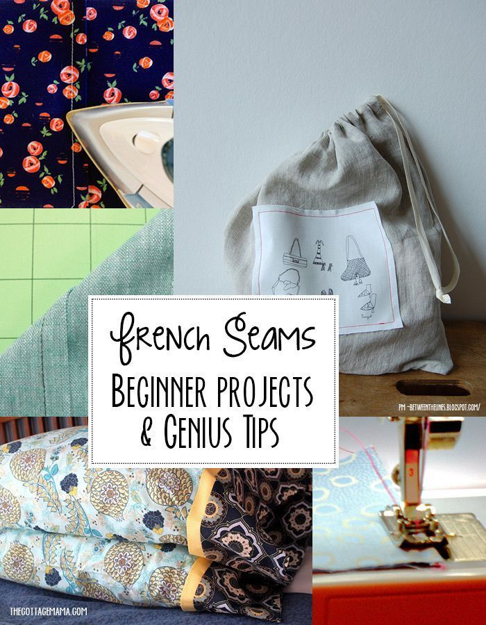 Learn how to sew french seams! Genius tips and beginner projects.