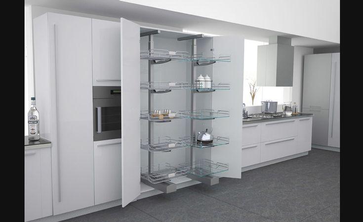 78 id es propos de armoire garde manger sur pinterest organisation de garde manger profonde - Garde manger fonctionnel cuisine ...
