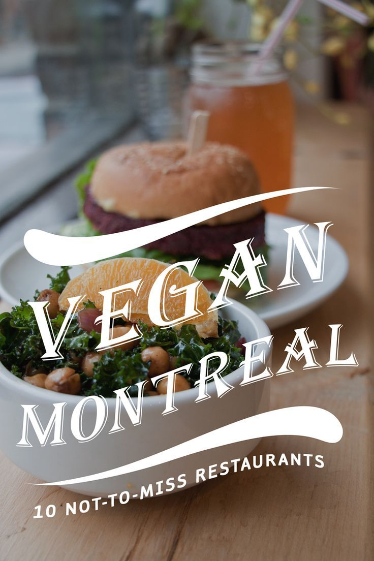The vegan food guide to montreal canada quebec