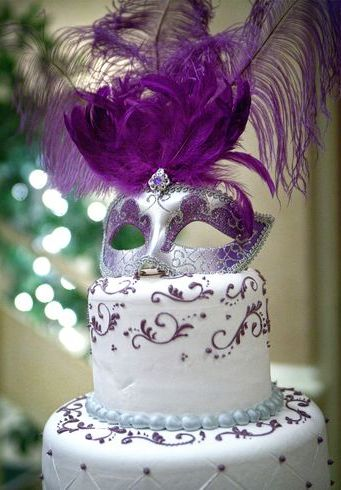 Sweet  Masquerade Cake Ideas