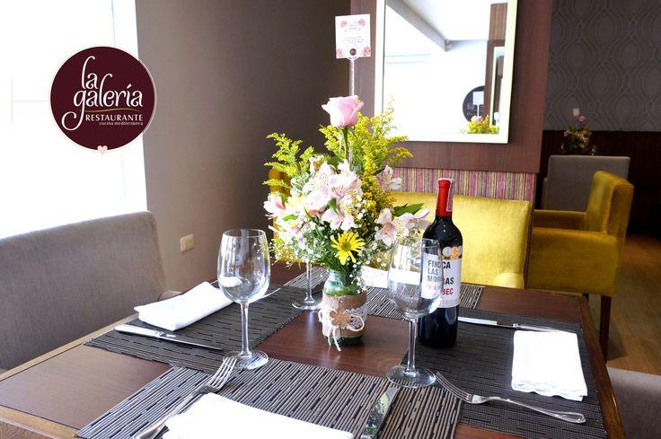 Celebra #AmoryAmistad en el Restaurante la Galería y disfruta con tu #pareja de un ambiente elegante y sofisticado, deléitese con nuestra especialidad en #Pastas, comida mediterránea e internacional y un servicio de alta categoría. #Cucuta #colombia #Prejas #Novios