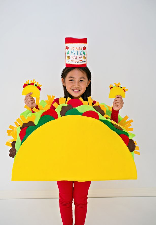 how to make baby taco costume